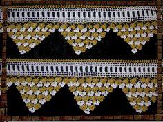 Simli dantel havlu kenarı modelleri