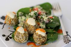 Falafel And Tabouleh - Raw Night at the Green Owl Cafe (Madison WI) this week, Middle Eastern Them Menu!