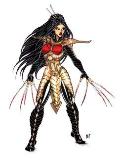 Lady Deathstrike by CrimsonArtz.deviantart.com on @deviantART
