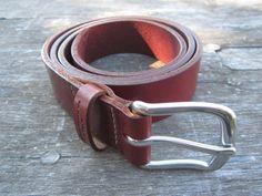 Latigo Belt Leather Works Minnesota