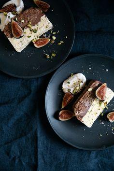 Chocolate and pistachio semifreddo | Cannelle et Vanille
