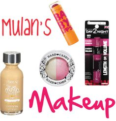 What Makeup Would Mulan Wear? by Southeast by Midwest #disney #mulan