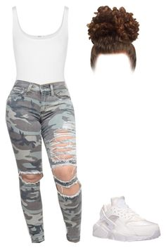 """Untitled #107"" by amaiah14 ❤ liked on Polyvore featuring Wolford and NIKE"