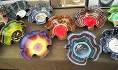 vinyl records art -  http://www.flickr.com/photos/markplaga/7236773608/