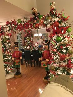 Cxy DIY Merry Christmas Banners Bunting Garlands for Holiday Party Decoration, Christmas Home Decor. - My Cute Christmas Noel Christmas, Green Christmas, Winter Christmas, Christmas Crafts, Christmas 2019, Christmas Tree Arch, Christmas Lights, Christmas Hallway, Apartment Christmas