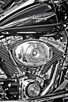 fdcac71cec0e Harley Davidson Moto Cafe, Custom Harleys, Custom Bikes, Harley Bikes, Road  King