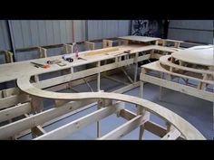 "Model Trains My HO CSX Railroad Part 1  ""Under Construction"""
