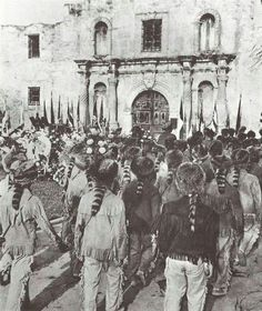 Feb 6...one month till the fall of the Alamo, march 6th 1836 and the death of davy crockett and aprox 200 defenders against santa anna's mexican forces