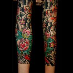 japanese tattoo flowers - Google Search
