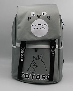 MeMoreCool Japanese Anime Casual Travel Backpack Oxford Shoulder Bag  Cartoon Schoolbag Laptop Bag Totoro  915d875a0