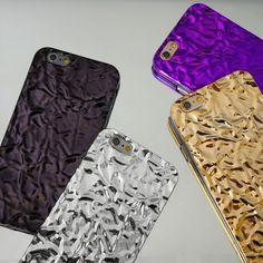 Amethyst x Silver x Gold x Titanium Black Crystalline Cases for iPhone 6 6s & 6 Plus 6s Plus