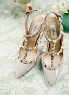 Valentino spiked shoes.