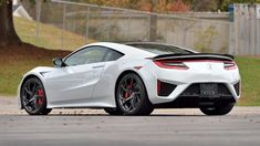 Lamborghini, Ferrari, 2017 Acura Nsx, Lexus Lfa, Carbon Fiber Spoiler, Porsche, Honda, Dual Clutch Transmission, Sport Seats