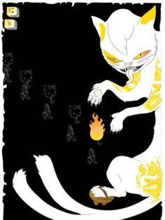 Andrea Innocent - Bakeneko or Neko mata ('monster cat')