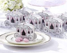 Purchase Romantic Enchanted Carriage Favor Boxes(wedding candy box sweet box wedding party Engagement FAVORS (Color: White) from on OpenSky. Share and compare all Home. Unique Wedding Favors, Wedding Party Favors, Wedding Gifts, Party Favours, Wedding Ideas, Baby Favors, Wedding Themes, Elegant Wedding, Disney Wedding Favors