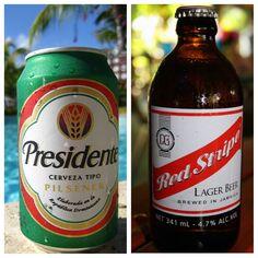 Presidente, the beer in Dominican Republic!