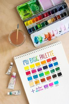 TOOLBOX: Watercolor Basics