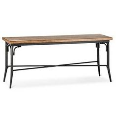Bralton Dining Bench Brown - The Industrial Shop™ : Target