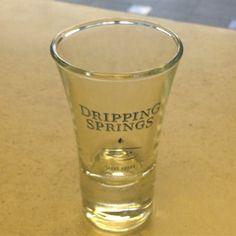 Dripping Springs Vodka short glass. $4 Available at http://drippingspringsvodka.com/index.php/store/ #vodka #texasvodka