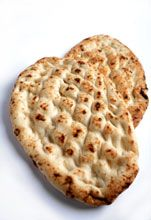 Grilled Low-Salt Flat Bread
