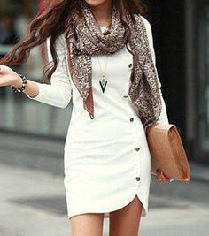 Vestido casual.