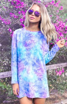 Amazing Chloe Dress Tie-Dye
