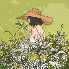 Aesthetic Drawing, Aesthetic Art, Aesthetic Anime, Pretty Art, Cute Art, Cute Couple Art, Cartoon Art Styles, Cute Drawings, Art Inspo