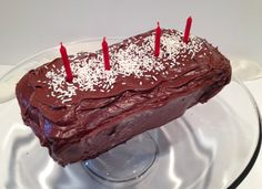 MysteryLoversKitchen.com Coconut chocolate birthday cake #recipe from mystery author @AveryAames AS GOUDA AS DEAD, Feb 2015