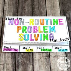 Got to Teach!: Non-Routine Problem Solving