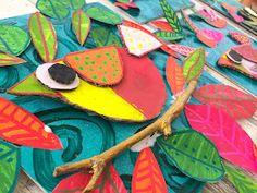 Diy For Kids, Crafts For Kids, Homemade Stamps, Easter Drawings, Indoor Crafts, Atelier D Art, 3rd Grade Art, Kids Art Class, Paper Animals