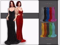 The Sims 4 CC: Brokatowa sukienka od Oranos TR The Sims 4 Pc, Sims 4 Cas, My Sims, Sims Cc, Sims 4 Mods Clothes, Sims 4 Clothing, Sims Mods, Vêtement Harris Tweed, The Sims 4 Cabelos