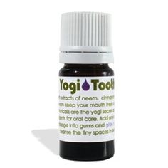 Yogi Tooth Serum -    Potent extracts of neem, cinnamon, clove, mastic, cayenne and cardamom keep your mouth extremely fresh and clean. These ancient Vedic botanicals, are the yogi secret anti-bacterial, anti-viral anti-fungal agents for oral care. Neem alkalizes the gums and mouth. Available in 5ml, 15ml and 30ml!