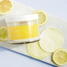 My main squeeze  ⠀⠀The key to flawless makeup starts with smooth, non-flaky skin  Not only do these lemon pads provide superb chemical exfoliation—with lactic acid, glycolic acid, and lemon, orange, and papaya extracts—but the special texture of the pad allows for the most delicate physical exfoliation to take place as you swipe it across your face ⠀⠀Did we mention its also gentle enough to use every day? Shop yours through link in bio~ whos already tried this? ⠀