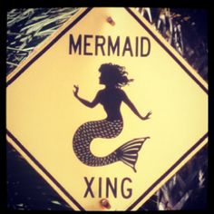 Mermaid Sign near Seaside, Florida