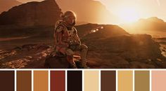 'Cinema Palettes' Tweets Colour Palettes From Iconic Movie Scenes.