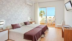 Hotel RH Riviera - Habitación Bed, Furniture, Home Decor, The Beach, Cosy Room, Double Bedroom, Hotels, House Decorations, Pictures
