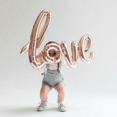 Love Script Balloon Northstar UK