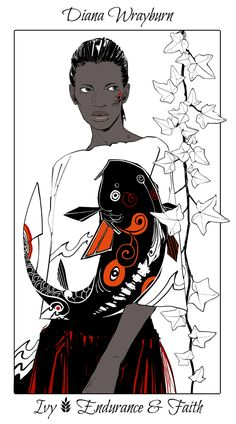 Diana Wrayburn - Ivy (Endurance and Faith): Cassandra Jean: Shadowhunter Flowers Series: *Character belongs to Author Cassandra Clare and her Dark Artifices series Cassandra Jean, Cassandra Clare Books, Shadowhunters Series, Shadowhunters The Mortal Instruments, The Dark Artifices, Jace Wayland, Alec Lightwood, Clary Et Jace, Lord Of Shadows