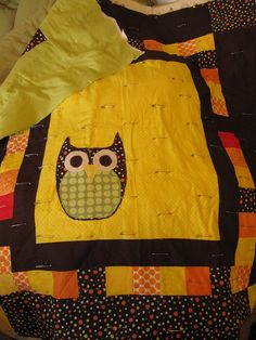 Owl quilt, I want one!