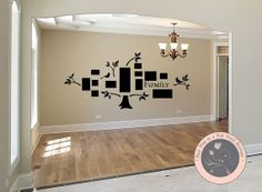 Wall Decal for the Home  Family Tree Photo by FourPeasinaPodVinyl, $35.00