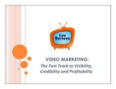 video-marketing-tips-and-tricks-13607838 by Lou Bortone via Slideshare
