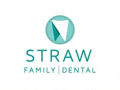 Straw Family Dental Logo