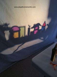 Exploring Shadows   Activities For Children   Adventures in the Dark, Playing with Light, Rainy Day Play   Play At Home Mom
