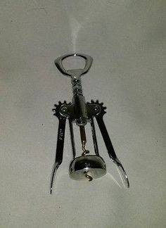 Franmara Corkscrew Italy Vintage Metal Wing Butterfly Wine Bottle Opener