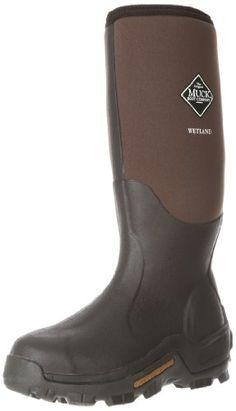 Men's Muck Boots Wetland Premium Field Boots, TAN/BARK, 10M(D) Muck Boot, MEN'S FASHION to buy just click on amazon here http://www.amazon.com/dp/B0002A82A8/ref=cm_sw_r_pi_dp_JxMpsb1A48WW871J