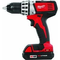 Milwaukee M18 Red Lithium 18-Volt Cordless 1/2 in. Compact Drill Kit http://suliaszone.com/milwaukee-m18-red-lithium-18-volt-cordless-12-in-compact-drill-kit/
