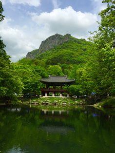 Baekyang temple in korea