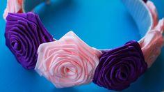 DIY Rose Satin Ribbon https://www.youtube.com/watch?v=-vLHQBzy56o&list=PLTpndqQPJx2T6H95MFiwCiXwlkdFLfC5R