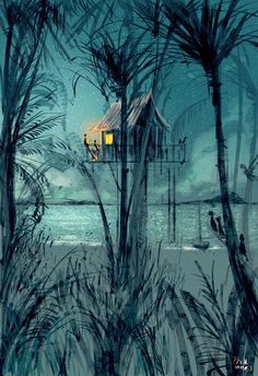 Can we just stay one more night? by PascalCampion on DeviantArt