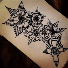 Zentangle inspired by Victoria Lee Hirt Tangle Doodle, Tangle Art, Zen Doodle, Doodle Art, Zentangle Drawings, Doodles Zentangles, Doodle Drawings, Doodle Patterns, Zentangle Patterns